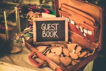 Photo of Guest Book details