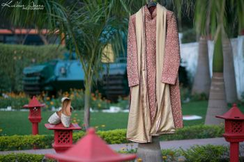 Photo of hanging sherwani shot