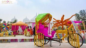 Photo of Bicycle props in Mehendi