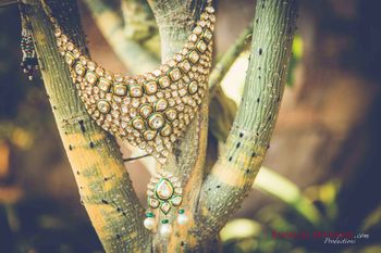 Photo of Polki Bridal necklace