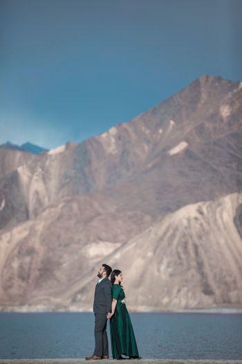 Destination pre wedding shoot in leh ladakh