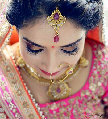 Bridal Makeup - Shaded Eyes
