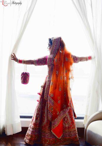 Candid Bridal Photograph