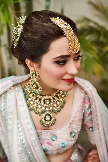 Unique anita dongre polki bridal jewellery