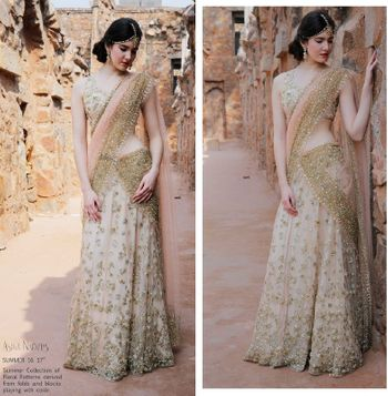 Shimmery Saree by Astha Narang
