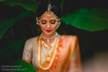Photo of A bridal portrait