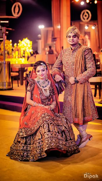 Royal Indian Bride and Groom