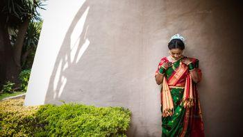 Photo of Such a vivid bridal silk saree!