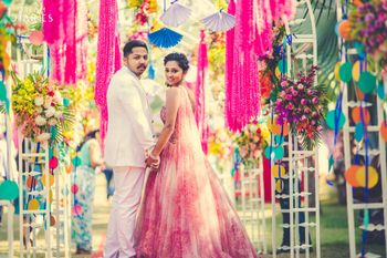Photo of Colorful Theme Couple Portrait