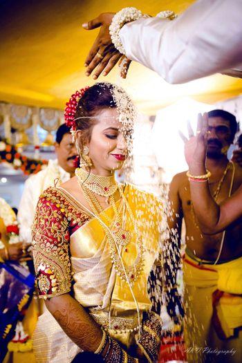 South Indian Wedding ritual.