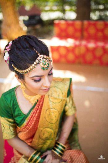 Bride with minimal, subtle makeup
