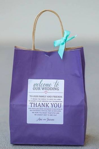 welcome bags for destination weddings