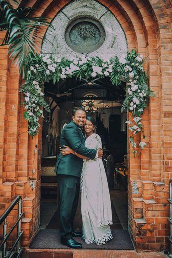 A cute Christian couple shot.