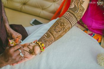 Bridal Hand Mehendi Designs