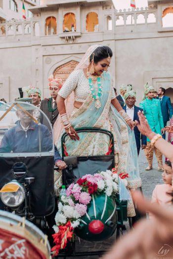 Bridal entry idea in sidecar