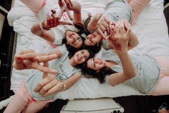 Pyjama party bachelorette idea