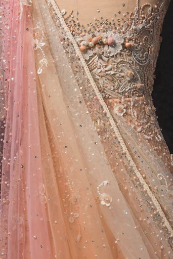 Photo of Intricate detailing on anarkali