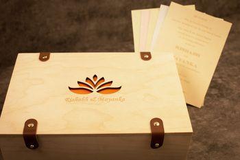 Photo of Wooden invite box