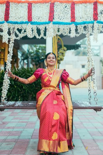 Photo from Koushik & Nivedha wedding album