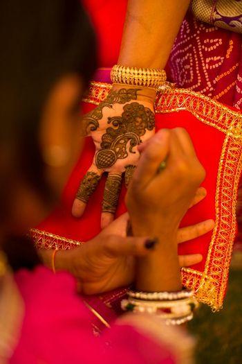Bridal Hand Mehendi Design