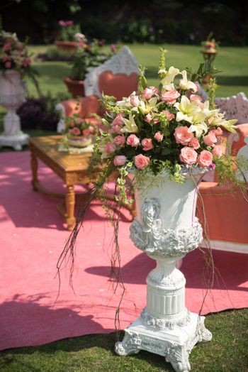 Photo of Pink Floral Decor