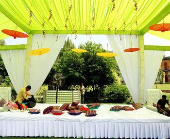 Photo of Haldi decor