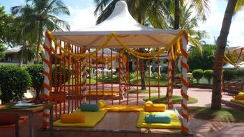 Genda Phool Mandap Canopy Decor