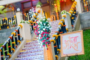 Genda Phool Decor and Floral Entrance