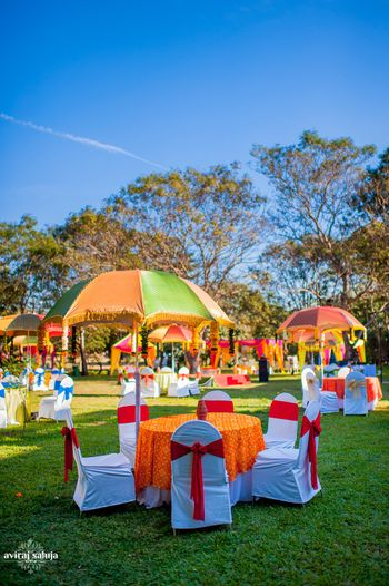 Photo of Colorful Umbrellas Decor