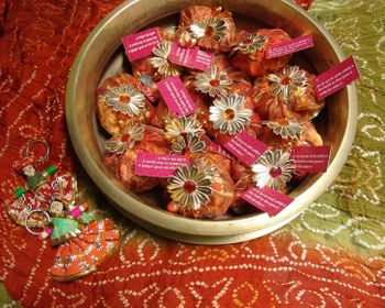 Mehendi favors - Gota Jewelry