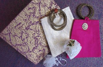 Mehendi Favors - Colorful Cloth Bags
