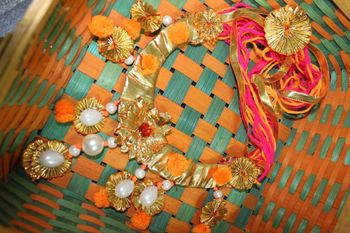 Gota jewelry for brides to be