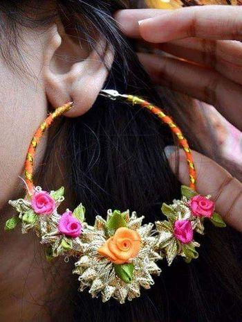 Gota jewellery for bride