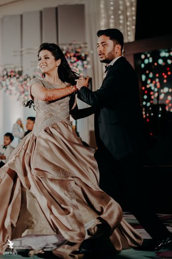 couple dancing shot