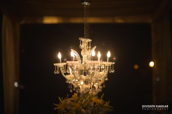 Crystal Chandelier Decor
