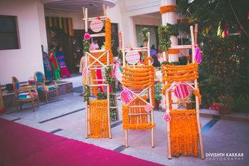 Photo of Genda Phool Ladder Decor