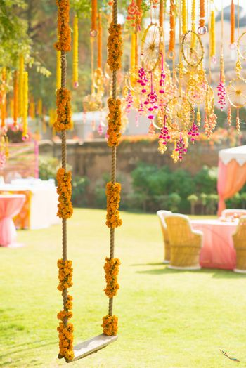 Photo of Bridal Swing on Mehendi