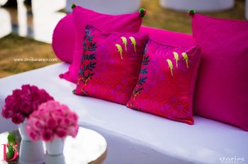 Photo of White and Pink Themed Decor