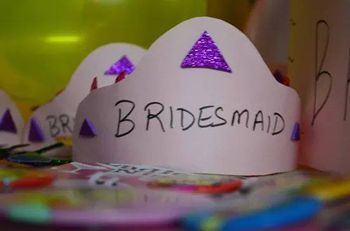 Bridesmaids crowns for bachelorette party