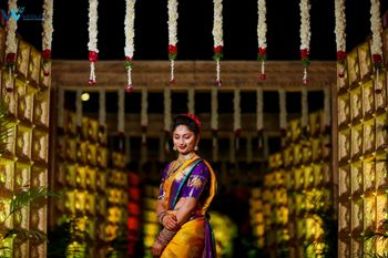 south indian bride posing!