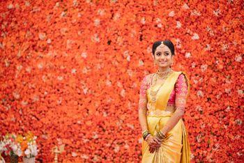 South indian bridal saree