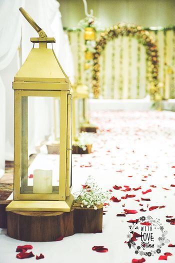 Photo of Gold Lanterns Decor
