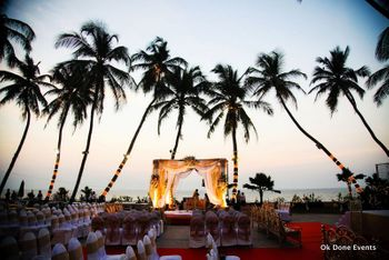 Beach Mandap Decor