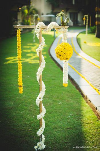 Floral Entrance Stands