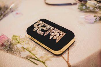 quirky bridal clutch bag
