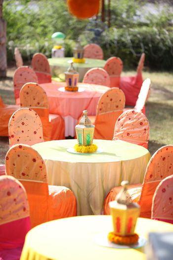 Pastel Inspired Day Decor Settings