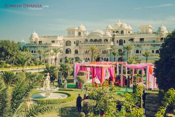 Outdoor Palace Venue Decor