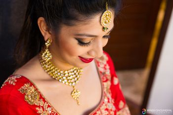 Photo of Gold Bridal Jewelry