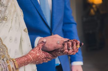 Couple Holding Hands Candid Shot