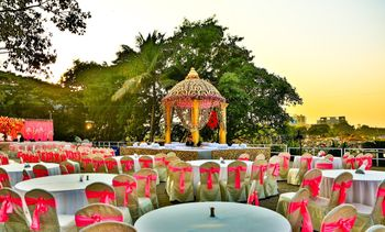 Pink and Gold Mandap